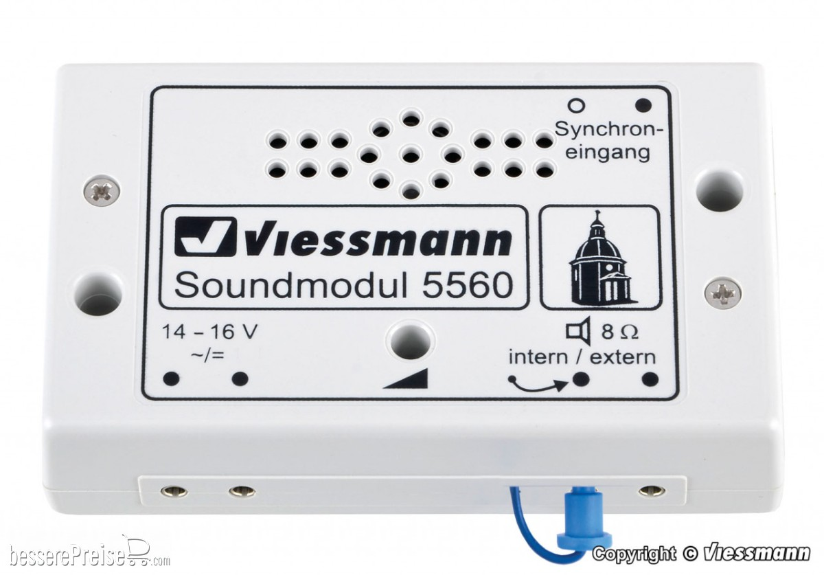Viessmann 5560  - Soundmodul Kirchenglocken