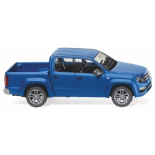 Wiking 031149 - VW Amarok GP Highline - ravennablau metallic matt
